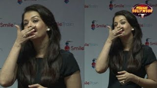 Aishwarya Rai Bachchan Gets Emotional At An Event - ZOOMDEKHO
