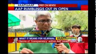 AAP's Ashutosh speaks to NewsX - NEWSXLIVE