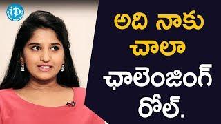 అది నాకు చాలా ఛాలెంజింగ్ రోల్  - TV Artist Meghana || Soap Stars With Anitha - IDREAMMOVIES
