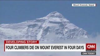 Four die on Mt. Everest - CNN