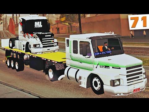 GTA Multiplayer - Transportando Caminhão