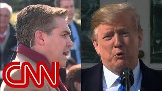 Trump neglects to answer Jim Acosta's immigration question - CNN