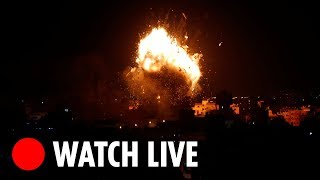 LIVE: Gaza skyline - THESUNNEWSPAPER