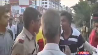Caught on Camera: Mumbai Police brutality - TIMESNOWONLINE