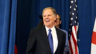 Doug Jones holds a news conference - WASHINGTONPOST