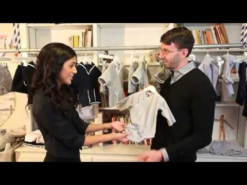 Gary Osborne Visits Children's Clothing Designer, Candice Dhakhwa, from Greenwich, CT