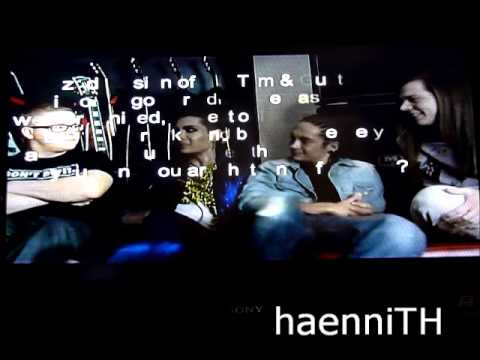 Darkside of the sun, Tokio Hotel, Q&A part 2