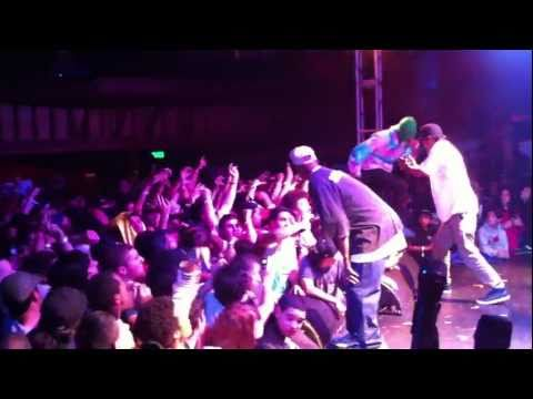 ODD FUTURE - TYLER THE CREATOR - GOBLIN ALBUM RELEASE SHOW TROUBADOUR