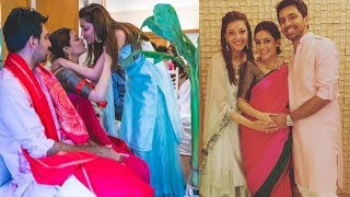 Actress Nisha Agarwal Baby Shower | Kajal Agarwal Sister Nisha Baby Shower Images | సీమంతం వేడుకలు - RAJSHRITELUGU