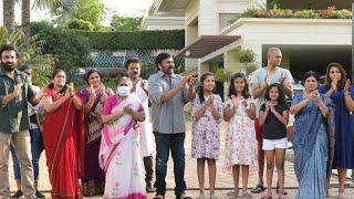 Megastar Chiranjeevi Family Participate In Janata Curfew  |  #JanataCurfew #ClapForTheNation - TFPC