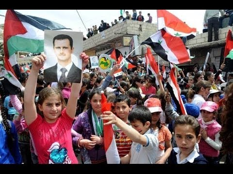 Syria News 16/4/2014, Syrians celebrate Independence Day and army's victories