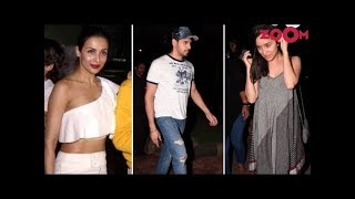 Malaika, Sidharth & Shraddha At Their Casual Best As They Get Snapped  | Style Today - ZOOMDEKHO