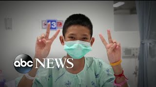 Thai boys recovering and steadily improving at hospital - ABCNEWS