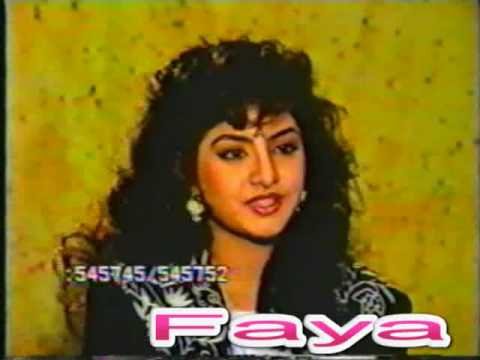 Divya Bharati - Pre Fame Interview (EXTREMELY Rare Video)