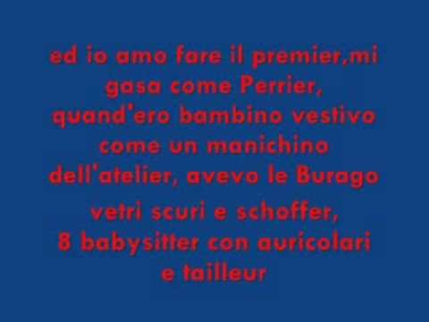Caparezza-Legalize the premier.Lyrics
