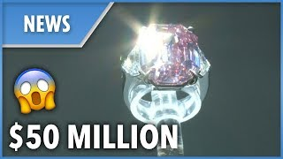 Pink diamond ring sold for $50 MILLION - THESUNNEWSPAPER