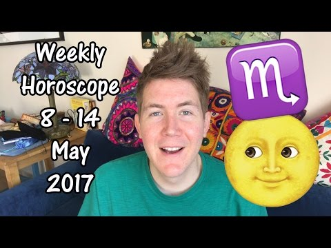 Weekly Horoscope for May 8 - 14, 2017 | Gregory Scott Astrology