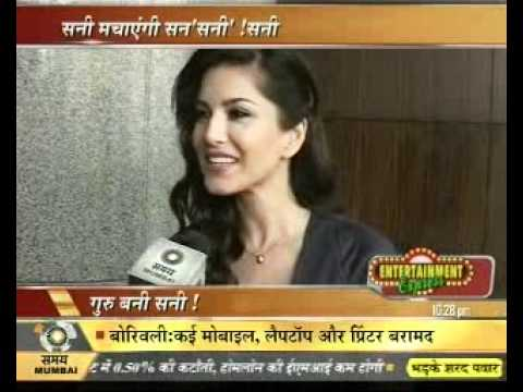 sunny leone interview by manish