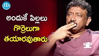 We Can not Control Destiny And Lucky - RGV | RGV About Hard Work | Ramuism 2nd Dose | iDream Movies - IDREAMMOVIES