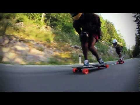 Original Euro Downhill Training; Longboarding @KNK2011