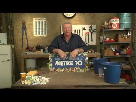 MITRE 10: HOW TO CREATE GREAT MOSAIC PIECES PRESENTED BY SCOTT CAM