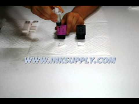 HP 56, 61, 75, 901 Cartridge Refill (InkSupply.com)