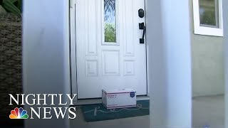 Porch Pirates: Criminals Stealing Packages Off Doorsteps | NBC Nightly News - NBCNEWS