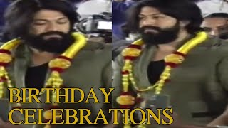 KGF Hero Yash Birthday Celebrations | Yash Birthday celebrations | TFPC - TFPC