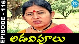 Adavipoolu || Episode 116 || Telugu Daily Serial - IDREAMMOVIES