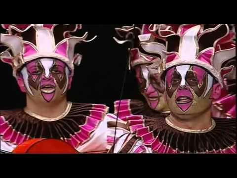 Sesión de Preliminares, la agrupación Teatro de marionetas actúa hoy en la modalidad de Comparsas.