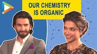 """Our chemistry is organic, it cannot be created"": Deepika Padukone on Ranveer Singh - HUNGAMA"