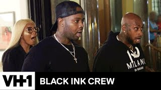 Jadah Pours Paint on Teddy's Car As Revenge | Black Ink Crew - VH1