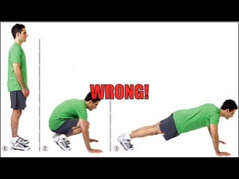 Burpee Exercise - How to do Perfect Burpees