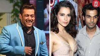 Salman Charges Rs 4 Crores For A TV Show | Kangana & Rajkummar To Come Together For A  Film? - ZOOMDEKHO
