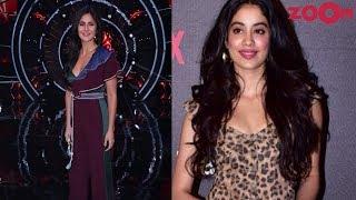 Katrina Kaif rocks power shoulder trend | Janhvi Kapoor's failed red carpet look | Style Today - ZOOMDEKHO
