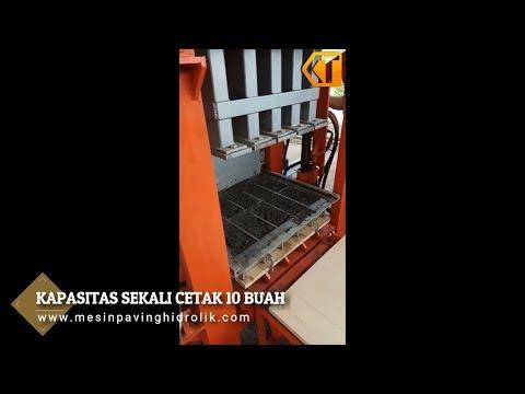 Mudahnya Mencetak Paving Dengan Mesin Cetak Paving Otomatis