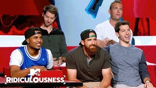 Dude Perfect Celebrate Their Epic Shots 🏀 | Ridiculousness | MTV - MTV