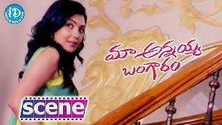Maa Annayya Bangaram Scenes - Rajashekar Meeting Kamalini Mukherjee || Master Bharath - IDREAMMOVIES
