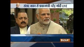 PM Modi addresses media ahead of winter session of the parliament - INDIATV