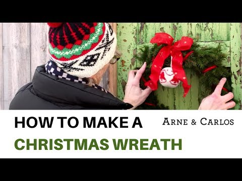 How to make a Christmas Wreath by ARNE & CARLOS