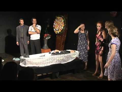 VELÓRIO À BRASILEIRA - Aziz Bajur - Teatro Escola Macunaíma