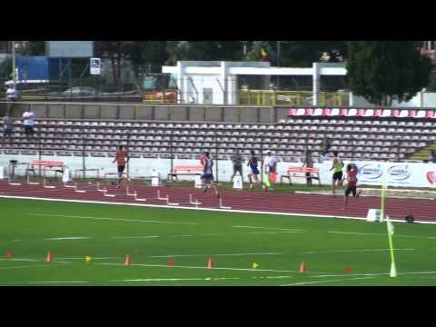 M 400 m Hurdles Heat 1