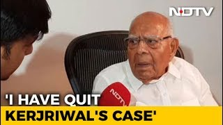Ram Jethmalani Quits As Arvind Kejriwal's Lawyer, Says Keep 2 Crore Fee - NDTV