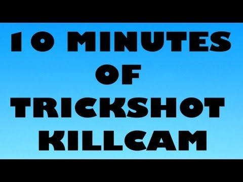10 MINUTES OF TRICKSHOT KILLCAM MW2 #3