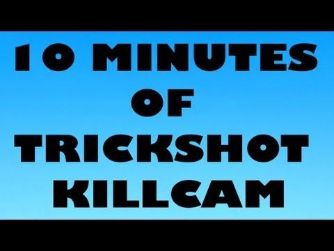 10 MINUTES OF TRICKSHOT KILLCAM MW2 #3