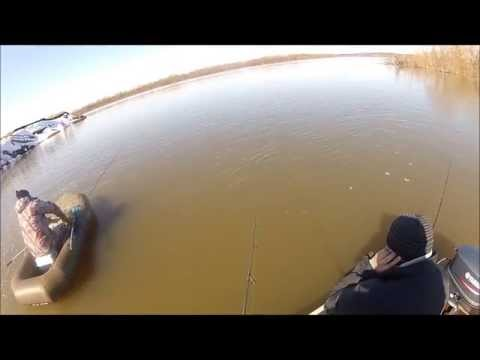 подводная рыбалка на оке видео