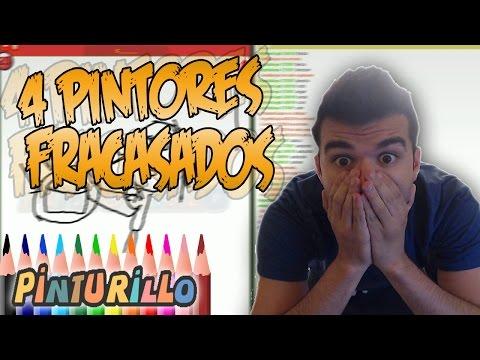 4 PINTORES FRACASADOS - PINTURILLO C/ VEGETTA, ALEXBY Y WILLYREX