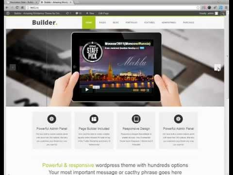 WordPress Theme Builder Builder –