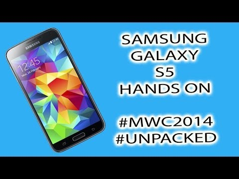 #MWC2014 - Samsung Galaxy S5 Quick Hands On