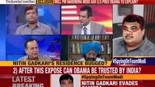 Nitin Gadkari not the only leader to be spied on - NEWSXLIVE
